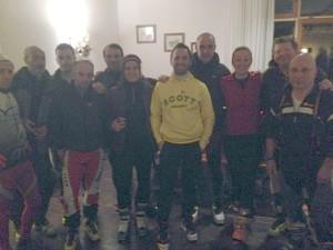 compagni avdc sugli sci