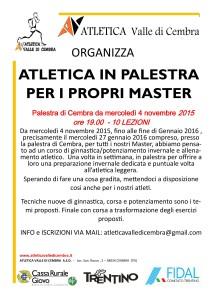 ALLENAMENTI MASTER PALESTRA
