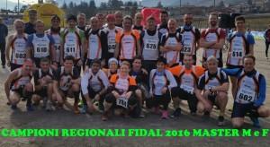 CAMPIONI REGIONALI FIDAL