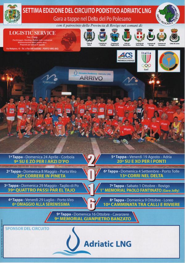 Calendario Podismo Veneto Ottobre 2020.Adriatic Ing Al Via Il Circuito Veneto 2016 Per Noi Un