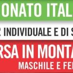 CAMPIONATI ITALIANI DI CORSA IN MONTAGNA: 26 GIUGNO 2016 : SI PARTE CON LE PRENOTAZIONI