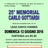 MEMORIAL CARLO GOTTARDI : EDIZIONE N° 25 !! GARA CHE E' SEMPRE UN SUCCESSO