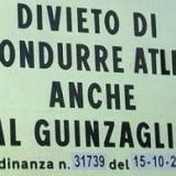 """DIVIETO DI CONDURRE """"ATLETI"""" AL GUINZAGLIO :-) !!!!"""