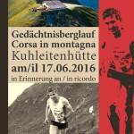 CORSA IN MONTAGNA: INDIMENTICABILE KARL GRUBER – GARA IN SALITA IL 17 GIUGNO 2016