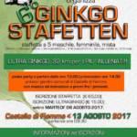 GINKGO STAFETTEN: DOMENICA 13 AGOSTO 2017