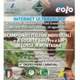 CAMPIONATO ITALIANO DI CORSA IN MONTAGNA 2^ PROVA : DOMENICA 20 AGOSTO 2017 – PER LE GARE CHE CONTANO ALLA SOCIETA' !! Tutte le info per gli AVDCniani !!!