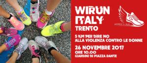 WIRun Italy: Trento – 5 km per dire NO alla violenza contro la donna
