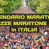 LE DATE delle principali MARATONE e MEZZEMARATONE Italiane 🤩 per un 2020 da 🏃♂️🏃♀️