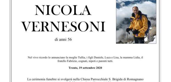 NICOLA VERNESONI un ricordo anche da parte nostra per quanto fatto all'atletica in Trentino