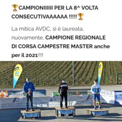 CAMPIONI REGIONALI per l' 8^ volta consecutiva – Campionato di Società di Cross 2021 – Grandeee Squadraaaaaa 😍🧡🖤