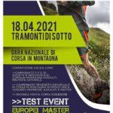 Campionato Triveneto Individuale di Corsa🏃 in Montagna⛰️: DOMENICA 18 APRILE 2021 a Tramonti di Sotto (PN)