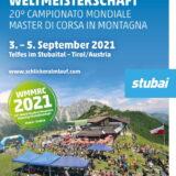 Campionati mondiali di corsa in montagna⛰️Master, Valle dello Stubai (AU) 3,4,5 settembre 2021