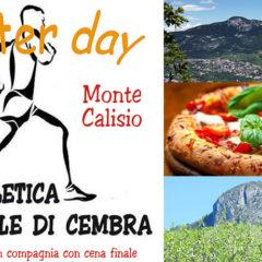 Master Day sul Calisio: 17 aprile 2019, il primo Master Day dell'anno alla stragrandeeeee !!! oltre 25 atletazzi sul Calisioooo 🧡🏃♀️🏃♂️🖤 !!! 🧡🖤🤗