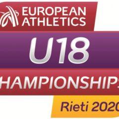 Pubblicati gli standard di qualificazione per gli Europei U18 (RIETI), U20 (TALLIN) e U23 (BERGEN)