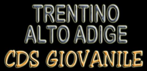 CDS GIOVANILI 2021. SABATO e DOMENICA 22-23 maggio a Trento: organizziamo NOIIII 🇮🇹🧡🖤💪😎