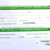 ⚡IMPORTANTE⚡: copia CERTIFICATO MEDICO AGONISTICO⚕️